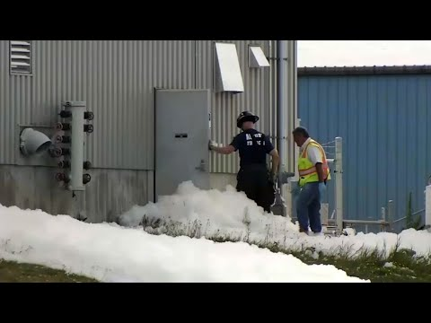 Malfunction Fills Maine Airport Hangar With Foam
