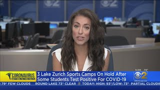 3 Lake Zurich Sports Camps On Hold After Campers Test Positive For COVID-19