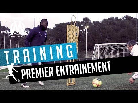 Mario Balotelli | Son premier entrainement devant le but ⚽️