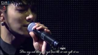 [HSvn][CUBEVietfans][Vietsub + Kara] Midnight + On Rainy Day - BEAST  BS2015 IN SEOUL(DVD cut)