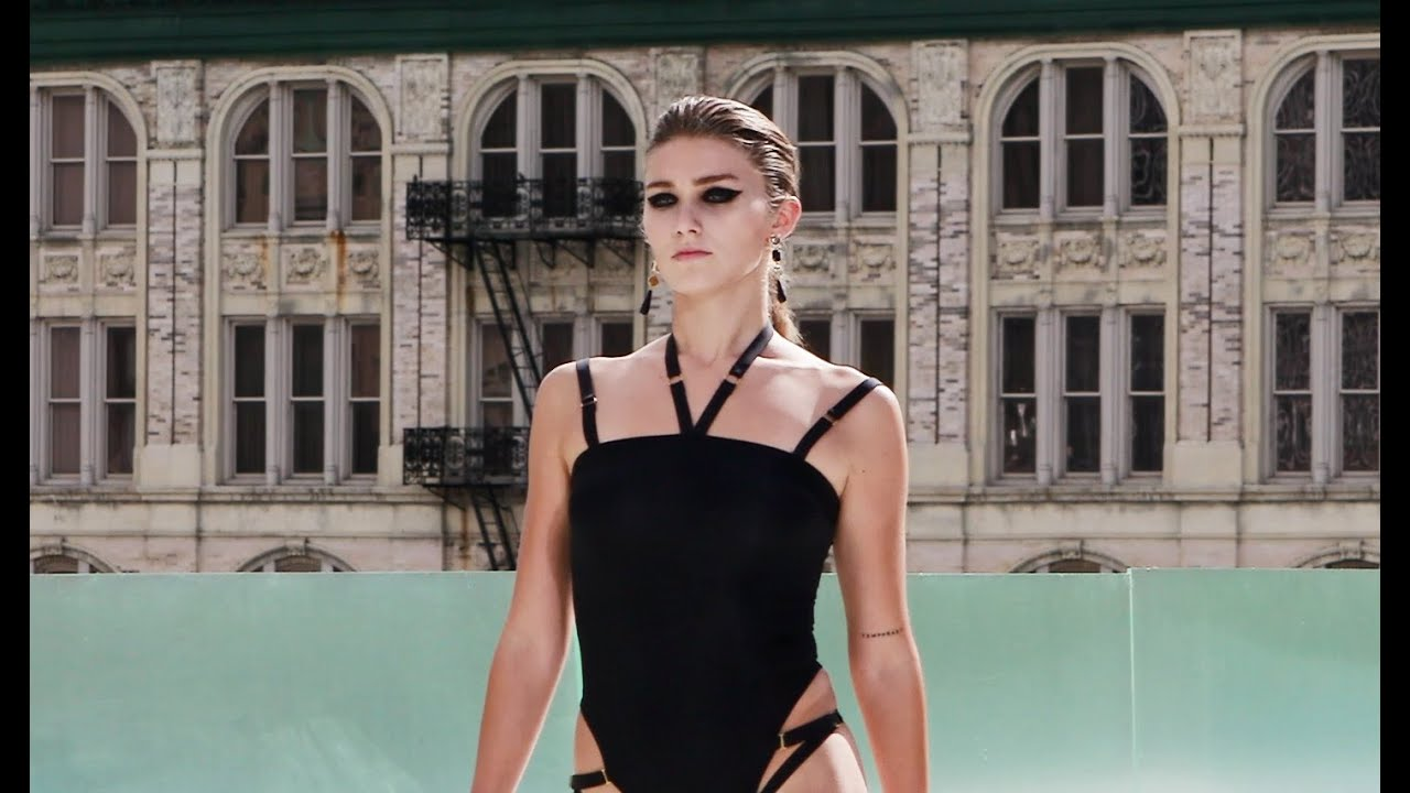 A Beautiful Model from Flying Solo Fashion Show September 2020