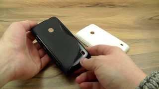 видео Обзор чехлов для Nokia Lumia 520