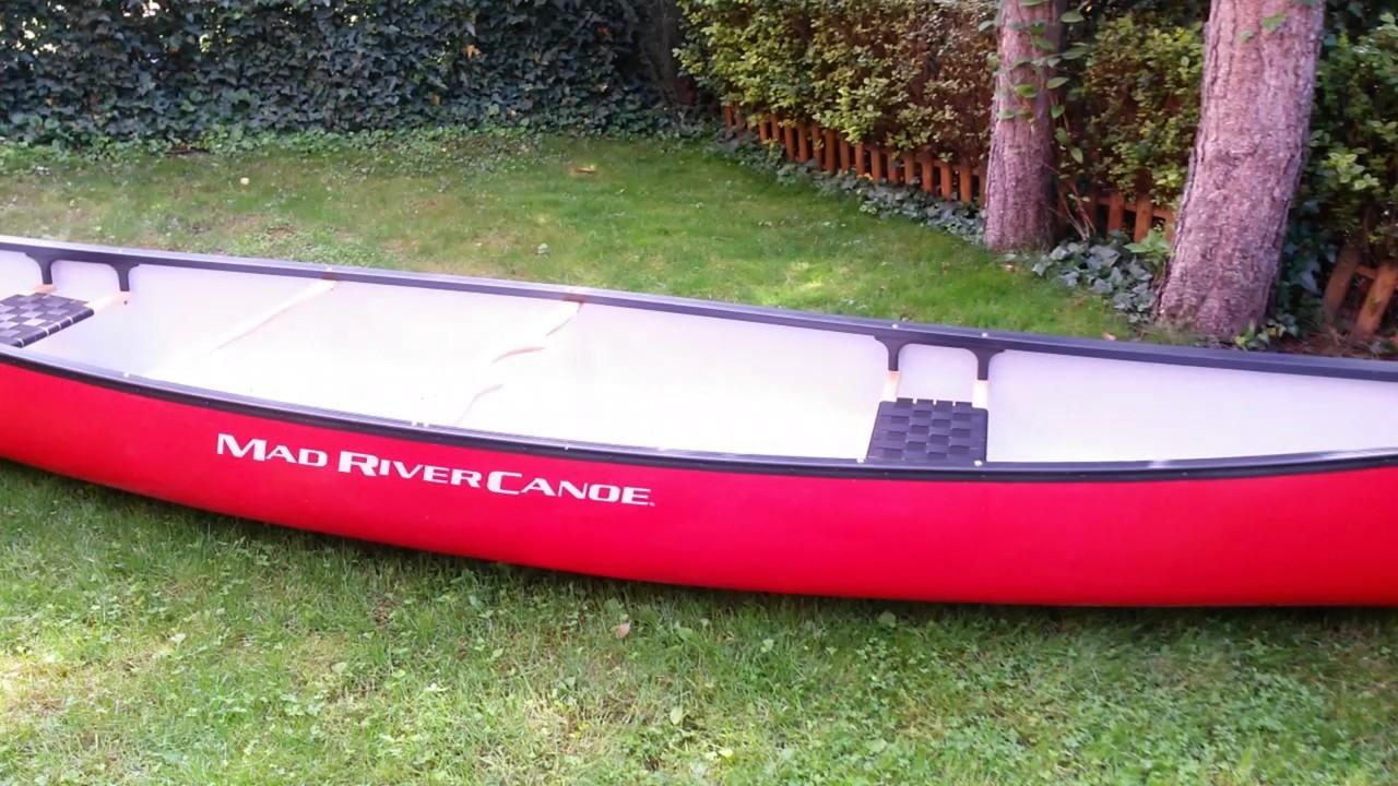 Mad River Explorer 16 TT open canoe