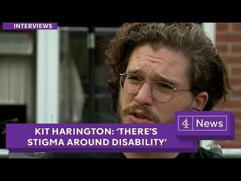 Kit Harington: Disability charities 'on the brink of a crisis' (extended interview)