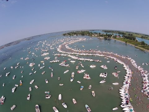 Raft Off 2014 Drone Video, Muscamoot Bay