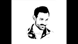 How to Draw John Abraham face pencil drawing step by step