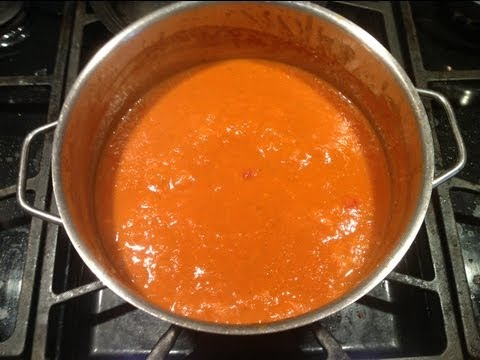 Authentic Italian Tomato Soup - A Delicious Versatile Soup Recipe from bakeyourwaykitchen!