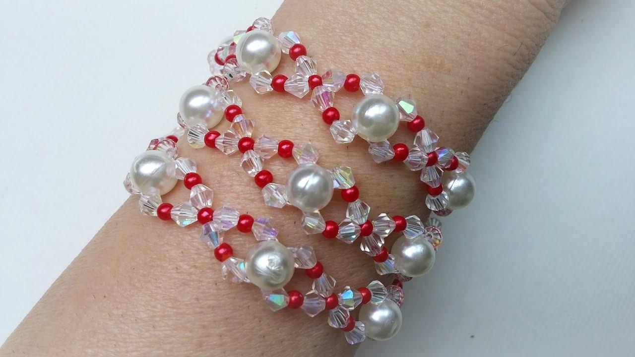 Hello Spring Jewelry Set. DIY elegant jewelry set - YouTube