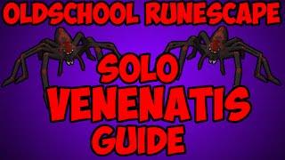 Oldschool Runescape - Venenatis Wilderness Boss Solo Guide