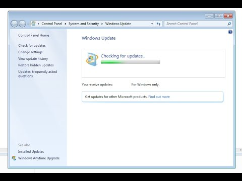 How to fix Windows Update stuck on checking for updates Windows 7 SP1