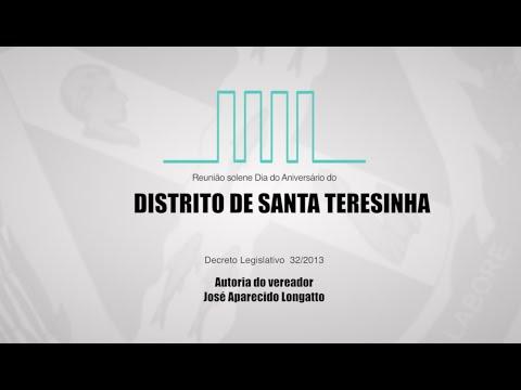 ANIVERSÁRIO DO DISTRITO DE SANTA TERESINHA