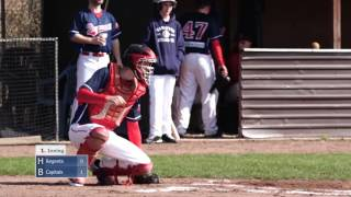 Baseball Bundesliga: Hannover Regents vs. Bonn Capitals, Spiel 2 vom 2. April 2016