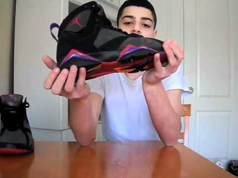 9889d826cdf Air Jordan Raptors 7s DMP Review + On feet - YouTube
