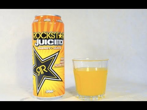Rockstar Juiced - Energy Drink Review