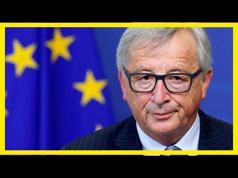 Breaking News | Eu's juncker backs macron economy moves before euro zone reform talks