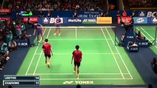 Lee Yong Dae  Yoo Yeon Seong vs Chai Biao  Hong Wei Indonesia Badminton 2015