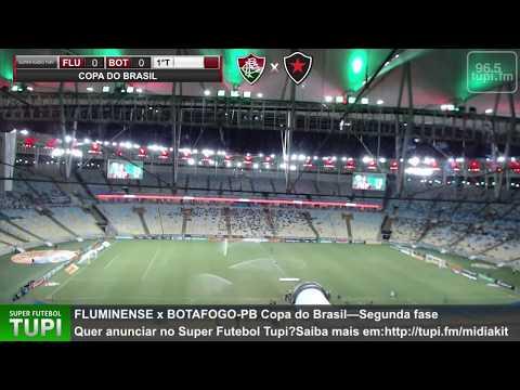 Fluminense 2 x 0 Botafogo-PB - Copa do Brasil - 2ª Fase - 04/03/2020 - AO VIVO