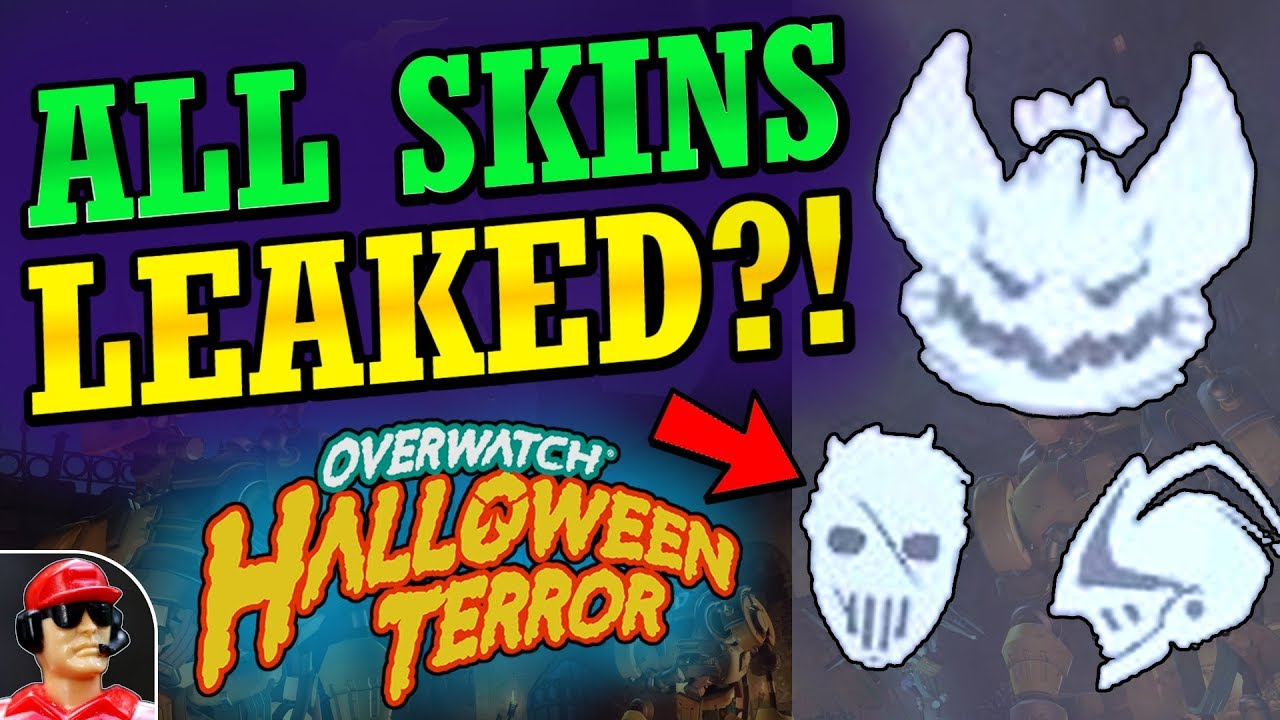 Overwatch Halloween 2020 Leaked Icons MORE NEW SKINS LEAKED!!   2018 Halloween Terror Event Skins Leak