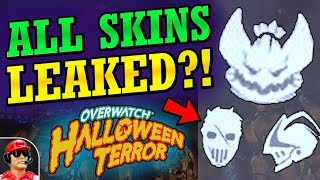 MORE NEW SKINS LEAKED!! - 2018 Halloween Terror Event Skins Leak (Overwatch News)