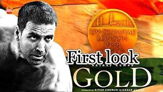 First Look Gold Movie Akshay Kumar 2018