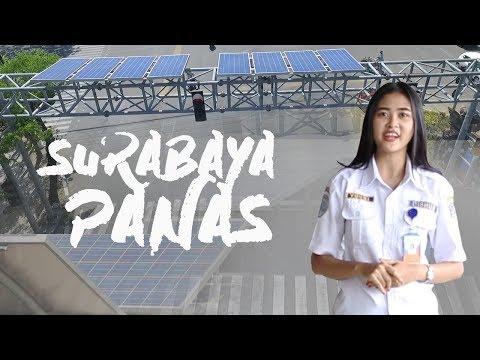 Dukung Go Green, Surabaya Pasang Solar Cell di Traffic Light