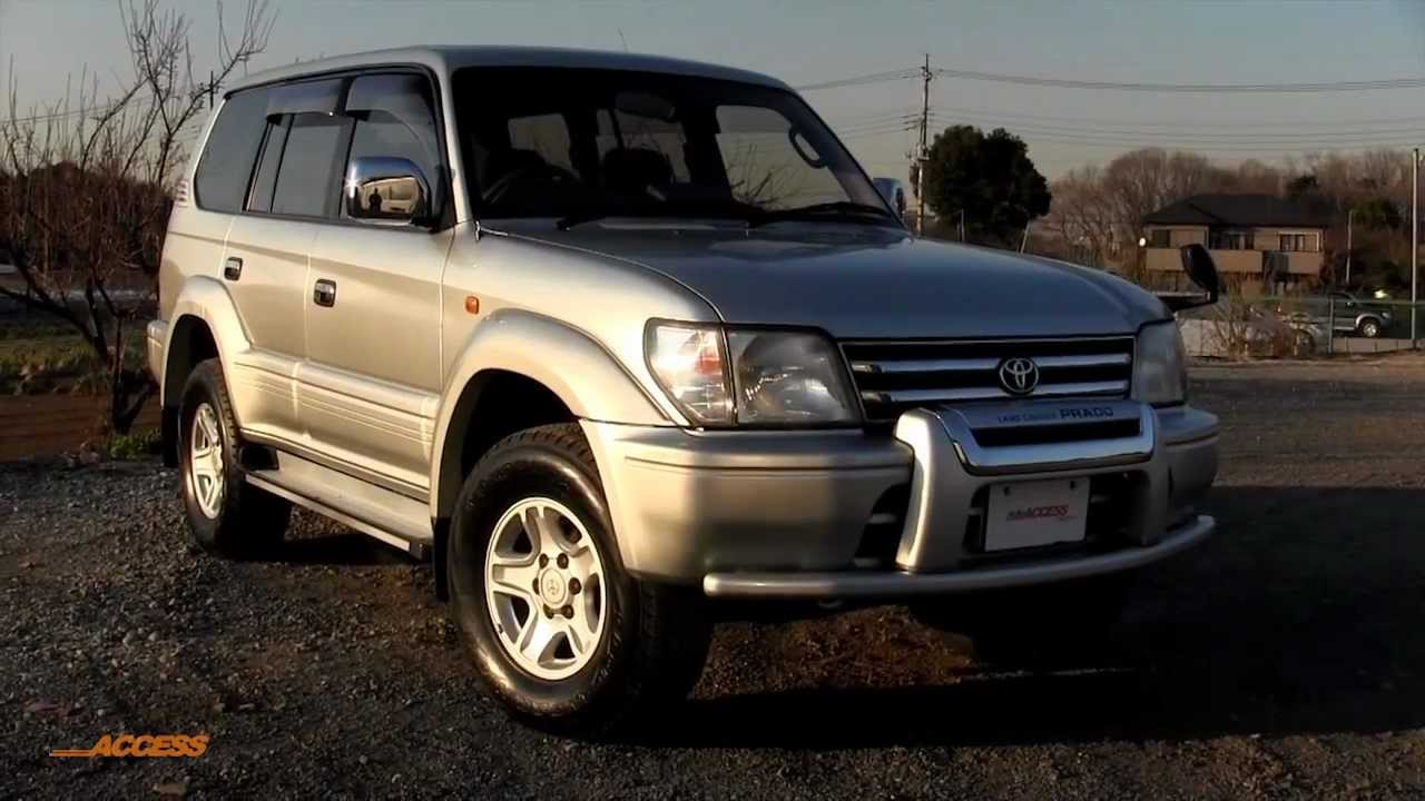 1999 toyota land cruiser prado 87k for sale direct from japan