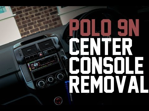 VW Polo 9N Centre Console Removal - In Depth Tutorial