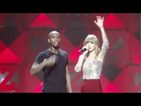 B.O.B ft. Taylor Swift- Both of Us - Z100 Jingle Ball 2012 HD