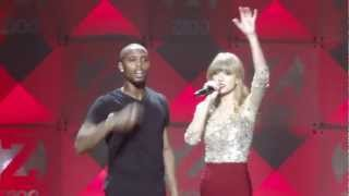 Video B.O.B ft. Taylor Swift- Both of Us - Z100 Jingle Ball 2012 HD download MP3, 3GP, MP4, WEBM, AVI, FLV Agustus 2018