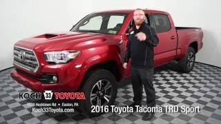 Koch 33 Toyota 2016 Toyota Tacoma TRD Sport