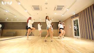 AOA (에이오에이) - Confused (흔들려) | Dance Practice Mirrored (춤 연습…
