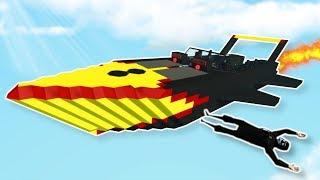 FLYING JET BOAT MISSION! - Stormworks Multiplayer Gameplay - Plane Crash Survival