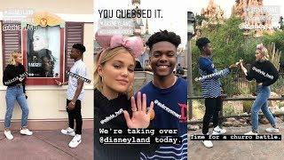 Olivia Holt | Instagram Story | 31 May 2018 w/ Aubrey Joseph at Disneyland