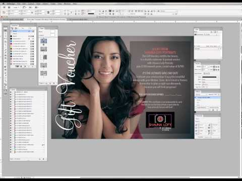 Customizing 5x7 Postcard Template for Adobe InDesign (Part 1