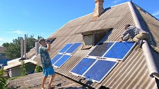 Cheap Giant Solar Power station DIY