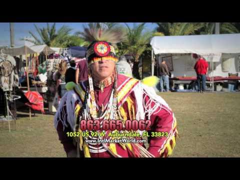 2017 POW WOW & Native American Festival   International Market World   TV Commercial 1