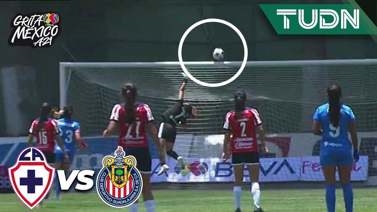 ¡METAL! ¡Por poco es un GOLAZO! | Cruz Azul 1-0 Chivas | Grita México BBVA Femenil AP2021 -J2 | TUDN