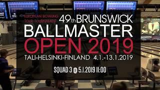 Brunswick Ballmaster Open 2019 - squad 3