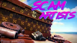 THE BIGGEST SCAMMERS EVER - Rust