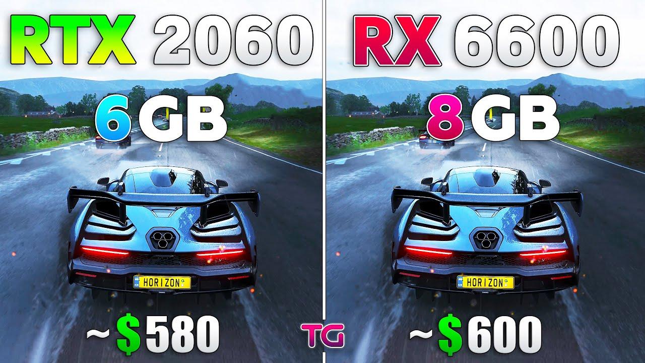 RX 6600 vs RTX 2060 Test in 10 Games l 1080p