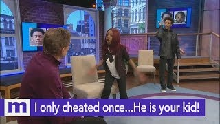 I only cheated once...He is your kid! | The Maury Show