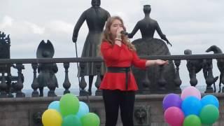 """Щеглова Дарина, """"Мир без войны"""" (Cover) Стрельна"""