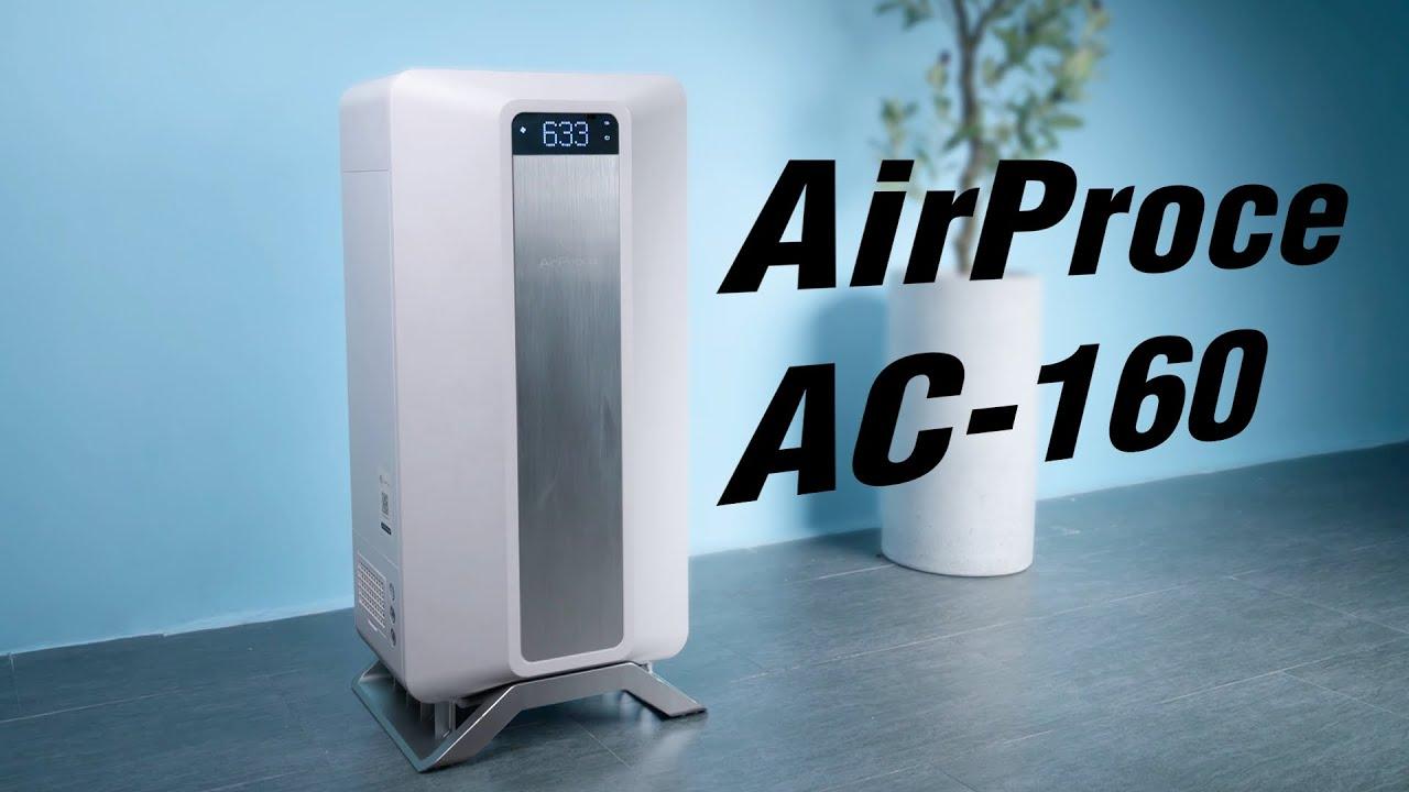 Trải nghiệm máy cấp khí tươi + lọc không khí Airproce AC-160