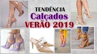TENDÊNCIA Calçados VERÃO 2019