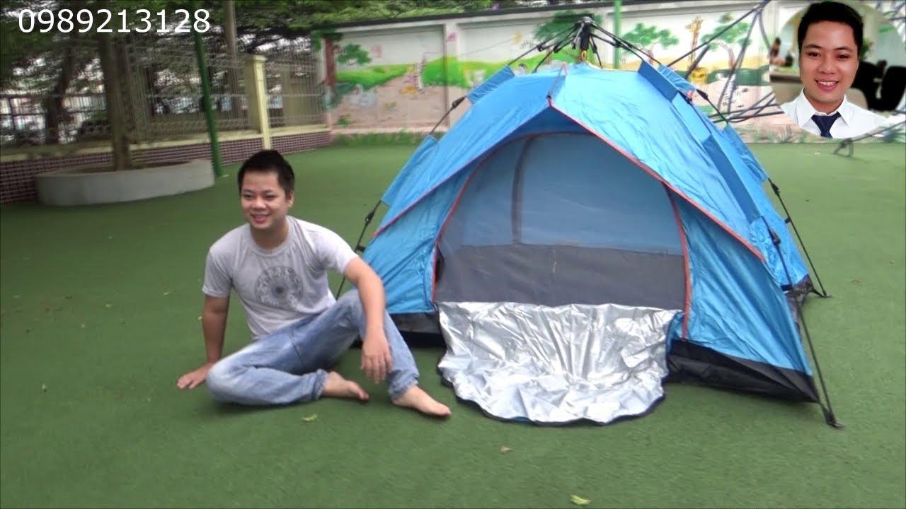 Lều tự bung đi cắm trại du lịch phượt dã ngoại PRO CAMP