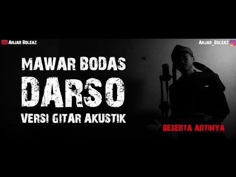 Cover Lagu Sunda !!! Mawar Bodas - Darso (Versi Gitar Akustik) By Anjar Boleaz