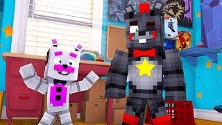 Lefty Meets Helpy! Minecraft FNAF Roleplay
