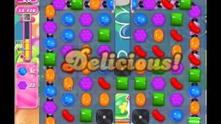 Candy Crush Level 650 (no boosters, 3 stars)