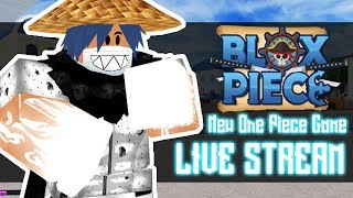 New One Piece Game on Roblox | BLOX PIECE LIVE STREAM Let's Grind | Noclypso