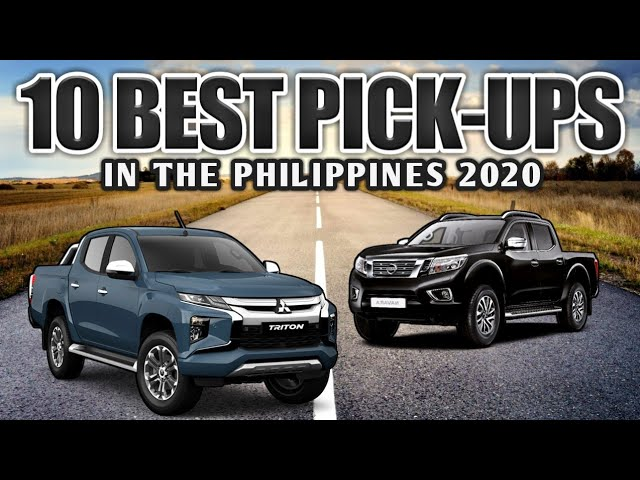 10 Best Pick Up Trucks In The Philippines 2020 Youtube